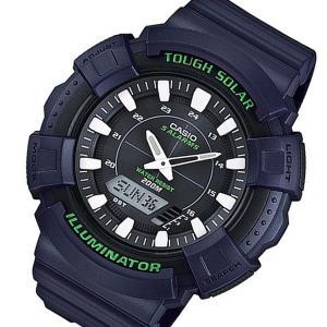 10000円以上送料無料 カシオ CASIO アナデジソーラー メンズ 腕時計 AD-S800WH-2A ネイビー 【腕時計 海外インポート品】 レビュー投稿で次回使える2000円クー|eagleeyeshopping