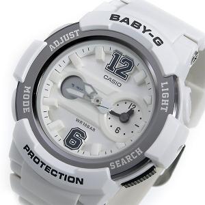 レビューで次回2000円オフ 直送 カシオ ベビーG BABY-G クオーツ レディース 腕時計 BGA-210-7B1 ホワイト 【腕時計 海外インポート品】