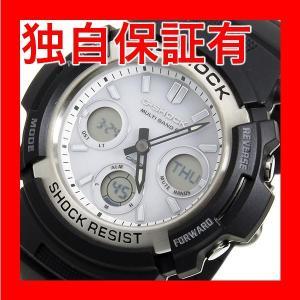 レビューで次回2000円オフ 直送 カシオ Gショック G-SHOCK クオーツ メンズ 腕時計 AWG-M100S-7A ホワイト 【腕時計 海外インポート品】