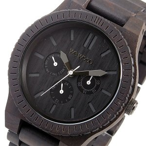 10000円以上送料無料 ウィーウッド WEWOOD 木製 メンズ 腕時計 KAPPA-BLACK ブラック 9818029 国内正規 【腕時計 国内正規品】 レビュー投稿で次回使える2000円|eagleeyeshopping