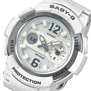 レビューで次回2000円オフ 直送 カシオ ベビーG アナデジ クオーツ レディース 腕時計 BGA-210-7B4 ホワイト 【腕時計 海外インポート品】