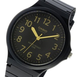 10000円以上送料無料 カシオ CASIO クオーツ ユニセックス 腕時計 MW-240-1B2V ブラック/イエロー 【腕時計 海外インポート品】 レビュー投稿で次回使える2000|eagleeyeshopping