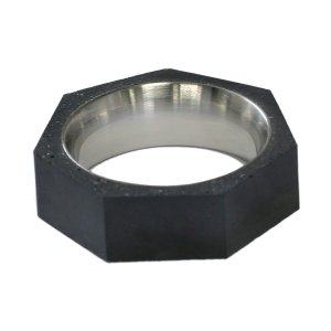 10000円以上送料無料 22designstudio Seven Ring THIN (Dark Grey) Dark grey concrete 4719692541260 リング 指輪 #5(9号) 【アクセサリー 指輪】 レビュー投|eagleeyeshopping