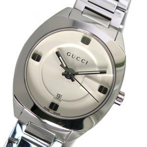 10000円以上送料無料 グッチ GUCCI クオーツ レディース 腕時計 YA142502 ホワイト 【腕時計 ハイブランド】 レビュー投稿で次回使える2000円クーポン全員にプ|eagleeyeshopping