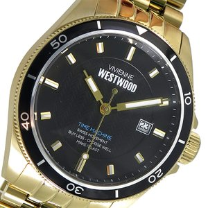 10000円以上送料無料 ヴィヴィアンウエストウッド Vivienne Westwood クオーツ メンズ 腕時計 VV181BKGD ブラック 【腕時計 海外インポート品】 レビュー投稿で eagleeyeshopping