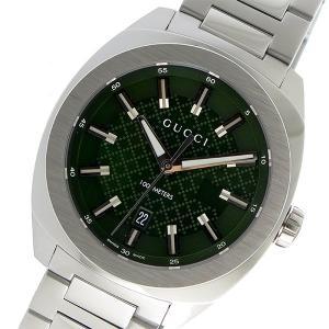 10000円以上送料無料 グッチ GUCCI GG2570 クオーツ メンズ 腕時計 YA142313 グリーン 【腕時計 ハイブランド】 レビュー投稿で次回使える2000円クーポン全員に|eagleeyeshopping