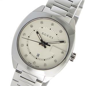 10000円以上送料無料 グッチ GUCCI GG2570 クオーツ メンズ 腕時計 YA142403 ホワイト 【腕時計 ハイブランド】 レビュー投稿で次回使える2000円クーポン全員に|eagleeyeshopping