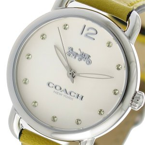 10000円以上送料無料コーチCOACHデランシークオーツレディース腕時計14502909ホワイト【...