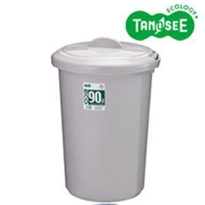 レビューで次回2000円オフ 直送 TANOSEE エコポリペール 丸型 90L 本体のみ(フタ別売) グレー 1個 生活用品・インテリア・雑貨 日用雑貨 ゴミ箱|eagleeyeshopping