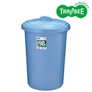 レビューで次回2000円オフ 直送 TANOSEE エコポリペール 丸型 90L 本体のみ(フタ別売) ブルー 1個 生活用品・インテリア・雑貨 日用雑貨 ゴミ箱|eagleeyeshopping