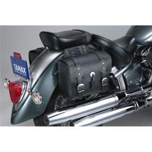 レビューで次回2000円オフ 直送 タナックス(TANAX) MOTO FIZZ アメリカン サイドバッグ 3 生活用品・インテリア・雑貨 バイク用品 ツーリングバッグ・BOX eagleeyeshopping