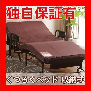 レビューで次回2000円オフ 直送 ATEX 収納式電動リクライニング くつろぐベッド AX-BE835〔代引不可〕 生活用品・インテリア・雑貨 寝具 ベッド・ソファベッド eagleeyeshopping