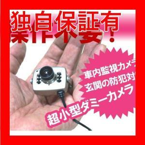 返品可 レビューで次回2000円オフ 直送 超小型ダミーカメラ 〔点滅LED内蔵〕 本物のダイキャストボディー・レンズ使用 〔車のいたずら防止・玄関等の防犯対策〕|eagleeyeshopping