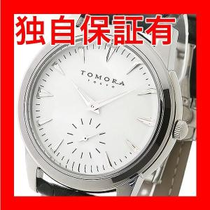 レビューで次回2000円オフ 直送 TOMORA TOKYO(トモラトウキョウ) 腕時計 日本製 T-1602-SSWH ファッション 腕時計 メンズ(男性)|eagleeyeshopping