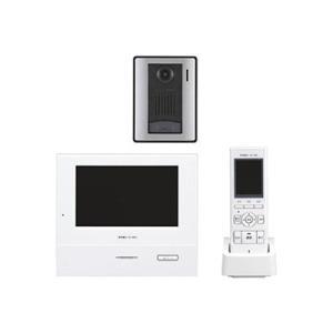 アイホン テレビドアホンワイヤレスセット 《ROCOタッチ7》 AC電源直結・タッチパネル式 モニター付親機・子機+充電台+カメラ付玄関子機 WJ-45|eagleeyeshopping