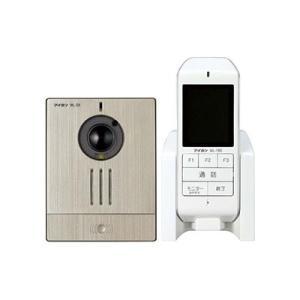 アイホン ワイヤレステレビドアホンセット AC電源アダプター式 モニター付親機+カメラ付玄関子機 WL-11|eagleeyeshopping