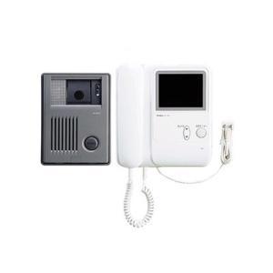アイホン テレビドアホンセット AC電源プラグ式 モニター付親機+カメラ付玄関子機 KCS-1AR|eagleeyeshopping