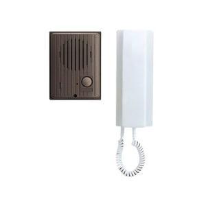 アイホン ワンタッチドアホンセット AC電源直結式 親機+玄関子機 IES-1AT/A|eagleeyeshopping