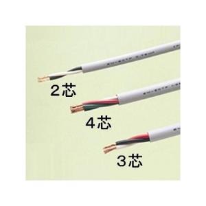 富士電線 エコ電線(耐燃性ポリエチレンキャブタイヤコード) 3心 0.75m  100m巻き 灰色 EM-ECTF0.75×3C×100m|eagleeyeshopping
