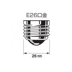 パナソニック 鶏舎用電球 30形 55ミリ径 E26口金 K-RK110V30W/D|eagleeyeshopping|03