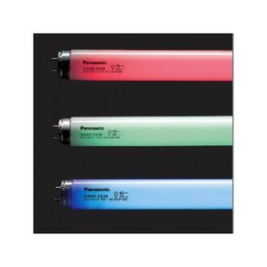 パナソニック カラーパルック蛍光灯 直管 ラピッドスタート形 40W ブルー FLR40S・EB/M|eagleeyeshopping