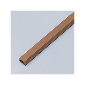 サンワサプライ ケーブルカバー 角型 幅17.0mm 両面テープ付 ブラウン CA-KK17BR eagleeyeshopping
