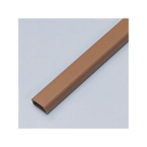 サンワサプライ ケーブルカバー 角型 幅22.0mm 両面テープ付 ブラウン CA-KK22BR|eagleeyeshopping