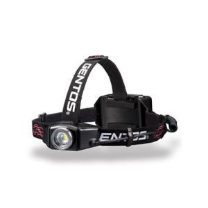 ジェントス LEDヘッドライト 充電式 耐塵・耐...の商品画像