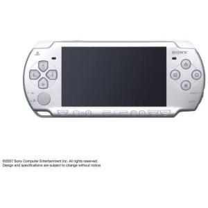 完品 PSP「プレイステーション・ポータブル」 アイス・シルバー (PSP-2000IS)