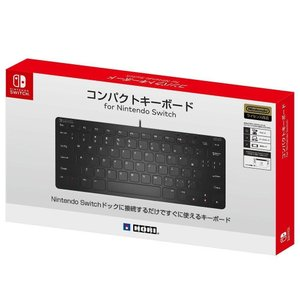 【Nintendo Switch対応】コンパクトキーボード for Nintendo Switch