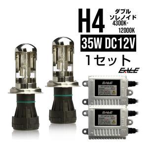 EALE HIDキット35W 双方向ダブルソレノイド H4 3年保証付 eale