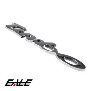 エンブレム ターボ TURBO 汎用 クローム 1個 M-26|eale