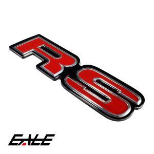 上質 カスタム エンブレム RS クリア樹脂コート M-61|eale