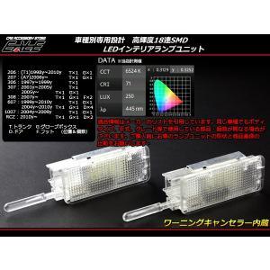 グローブボックスに LED インテリアランプ ルームランプ プジョー 206/207/306/307/308/607/1007/RCZ R-174|eale