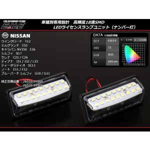 キャラバン NV350 E26 専用設計 LED ナンバー灯 R-209|eale