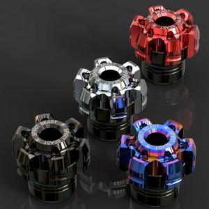 T6063 アルミニウム製 汎用 アクスルスライダー フロント/リア兼用  アクスルと共締めすること...
