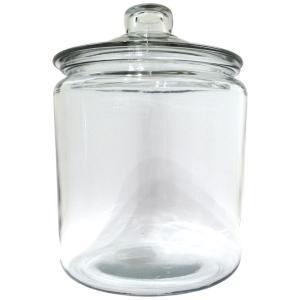 アンカーホッキング ジャー ストレートジャー キャニスター 保存容器 米びつ 3.8L 3800cc ガラス おしゃれ 米びつ 瓶|eameschair-y