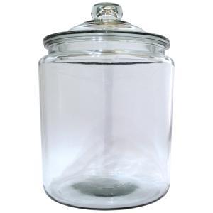 アンカーホッキング ジャー ストレートジャー キャニスター 保存容器 米びつ 7.6L 7600cc ガラス おしゃれ 米びつ 瓶|eameschair-y