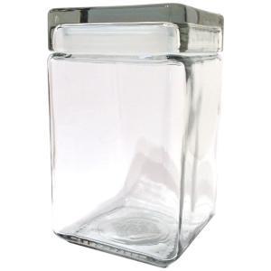 アンカーホッキング スクエアジャー M 1.4L 1400cc キャニスター 保存容器 ガラス おしゃれ|eameschair-y