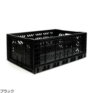 エーワイ・カーサ Ay・kasa マルチウェイ マキシボックス ブラック コンテナボックス 折りたたみ 収納ボックス おしゃれ かっこいい 収納ケース|eameschair-y