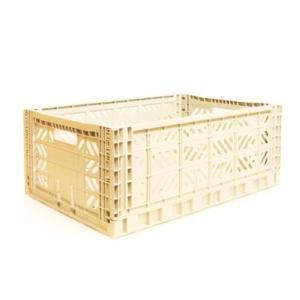 エーワイ・カーサ Ay・kasa マルチウェイ マキシボックス バニラ コンテナボックス 折りたたみ 収納ボックス おしゃれ かっこいい 収納ケース|eameschair-y