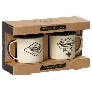 ジェントルメンズハードウェア エナメルエスプレッソセット Enamel Espresso Set 琺瑯 ホーロー エスプレッソマグ2個セット キャンプ 食器 アウトドア コップ eameschair-y