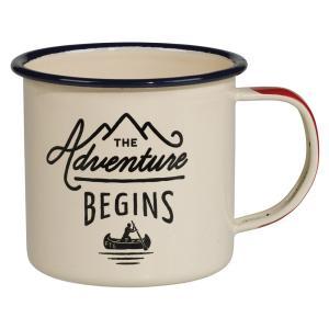 ジェントルメンズハードウェア エナメルマグ ホワイト Enamel Mug 琺瑯 ホーロー マグカップ 300ml キャンプ 食器 アウトドア コップ eameschair-y