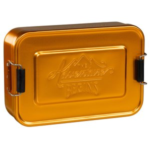 アルミ 弁当箱 ジェントルメンズハードウェア ランチティン LUNCH TIN ゴールド ランチボックス アルミニウム メンズ お弁当箱 eameschair-y