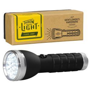 ジェントルメンズハードウェア 懐中電灯 led シルバートーチ LED Silver Torch おしゃれ かっこいい キャンプ アウトドア グランピング eameschair-y