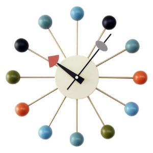 ジョージネルソン ボールクロック マルチカラー  掛け時計 正規ライセンス品