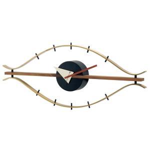 ジョージ・ネルソン アイクロック アイ・ウォールクロック EYEクロック 正規ライセンス版 掛け時計|eameschair-y