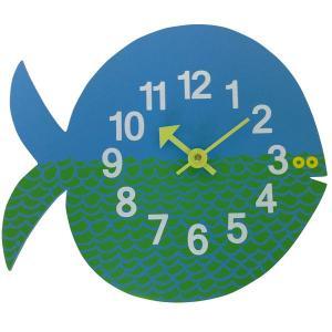 ジョージネルソン ズータイマークロック フィッシュ フェルナンドザフィッシュ  掛け時計 正規ライセンス品|eameschair-y