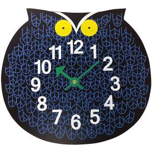 ジョージネルソン ズータイマークロック ふくろう オマーザオウル  掛け時計 正規ライセンス品|eameschair-y