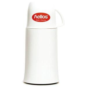 ヘリオス ポット 保温 helios エレガンス 250ml ホワイト elegance ガラス魔法瓶 卓上魔法瓶|eameschair-y